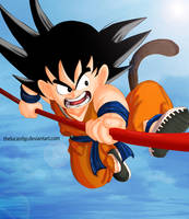 Goku by thelucasrbp