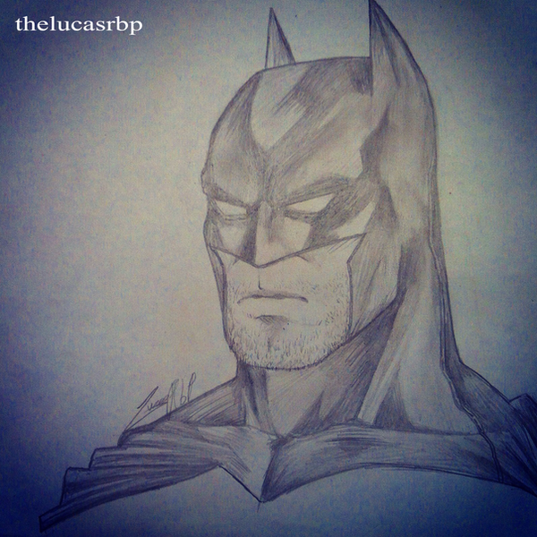 Batman Drawn by thelucasrbp