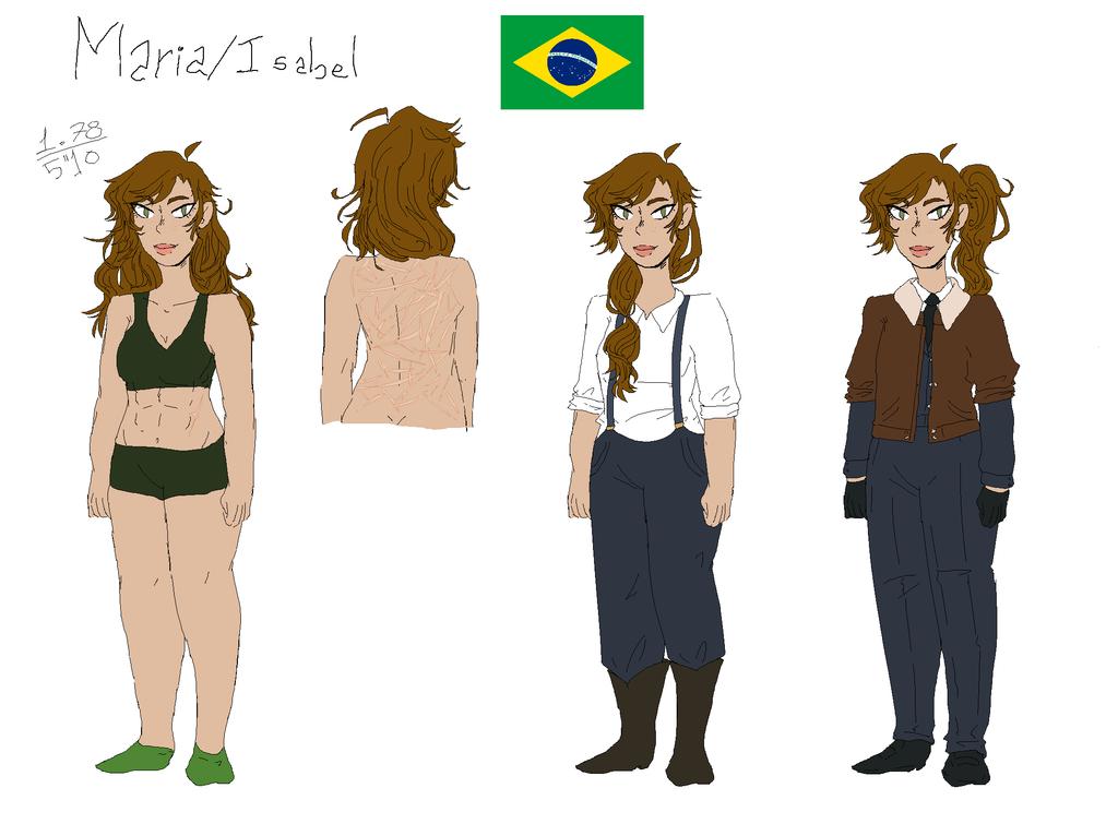 Brazil by MaryMello
