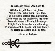Aragorn son of Arathorn by MyrddinDerwydd