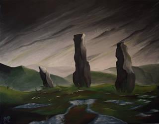 StandingStones by MyrddinDerwydd