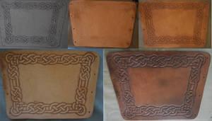 Leather Bracer Composite by MyrddinDerwydd