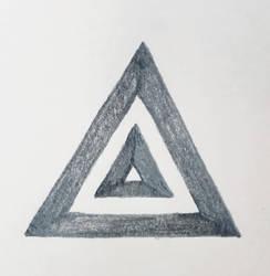 Triangle symbols: Deneir by MyrddinDerwydd