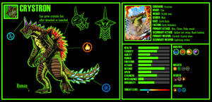 Kaiju OC 2: Crystron