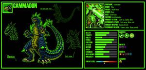 Kaiju OC 5: Gammadon