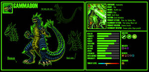 Kaiju OC 5: Gammadon by xXJimJamXx