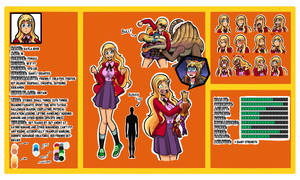 OC Character sheet: Kayla the Giant