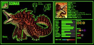 Kaiju OC 7: Sconar by xXJimJamXx