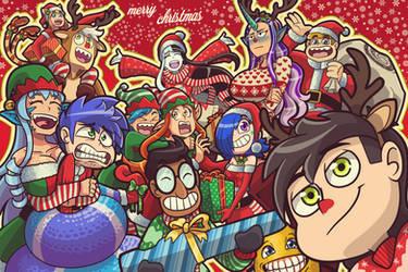 Merry Christmas (OC) by xXJimJamXx