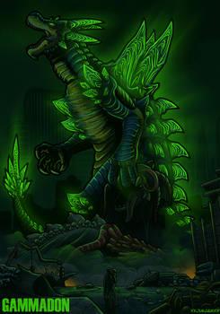 Kaiju OC Pic: Gammadon 1