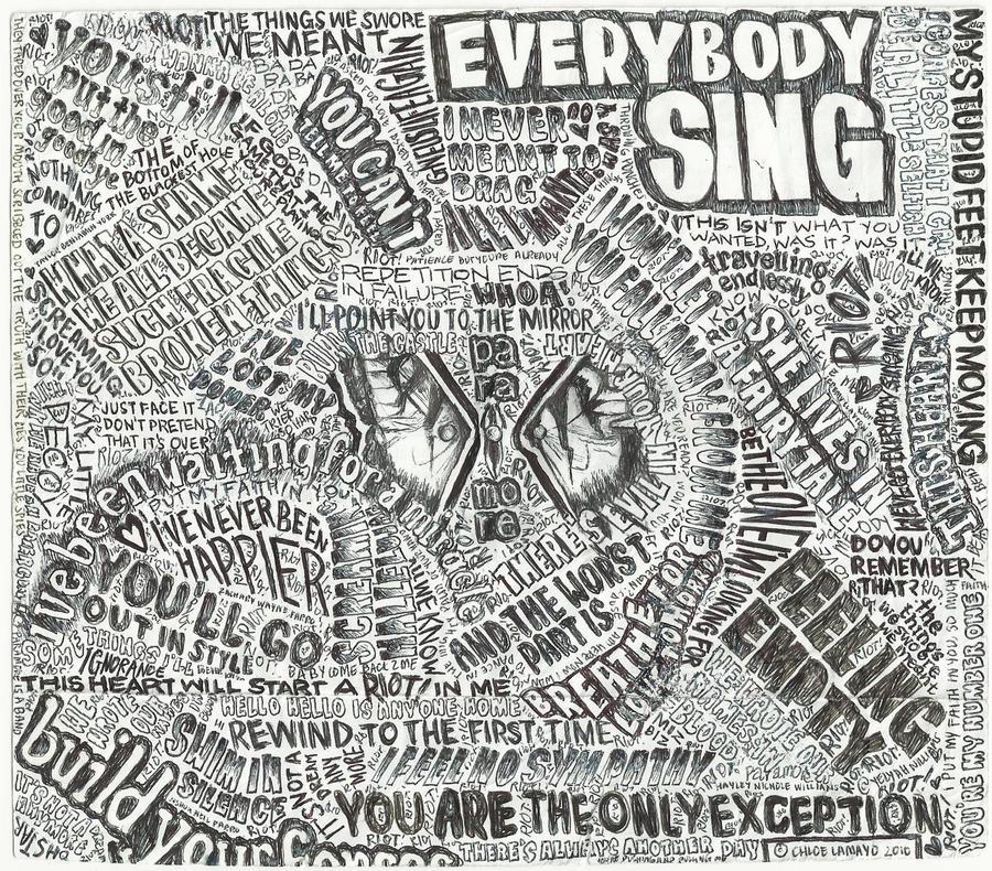 Paramore Lyrics Collage II by ch-love on DeviantArt Paramore Lyrics