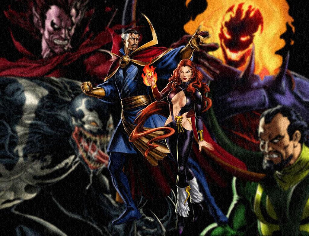 Top Wallpaper Marvel Deviantart - marvel_avengers_alliance_satana_and_dr_strange_by_icequeen654123-d6ebs6d  Pictures_40911.jpg