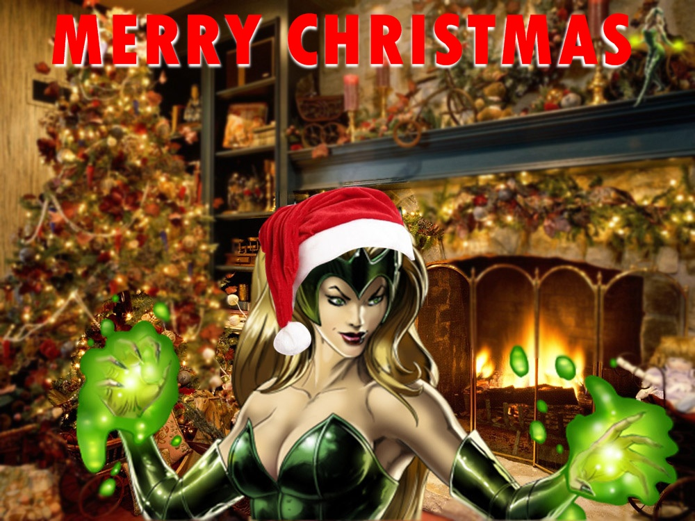 Enchantress - Merry Christmas by icequeen654123