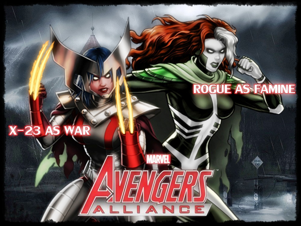 Marvel Avengers Alliance by icequeen654123 on DeviantArt X 23 Marvel Avengers Alliance