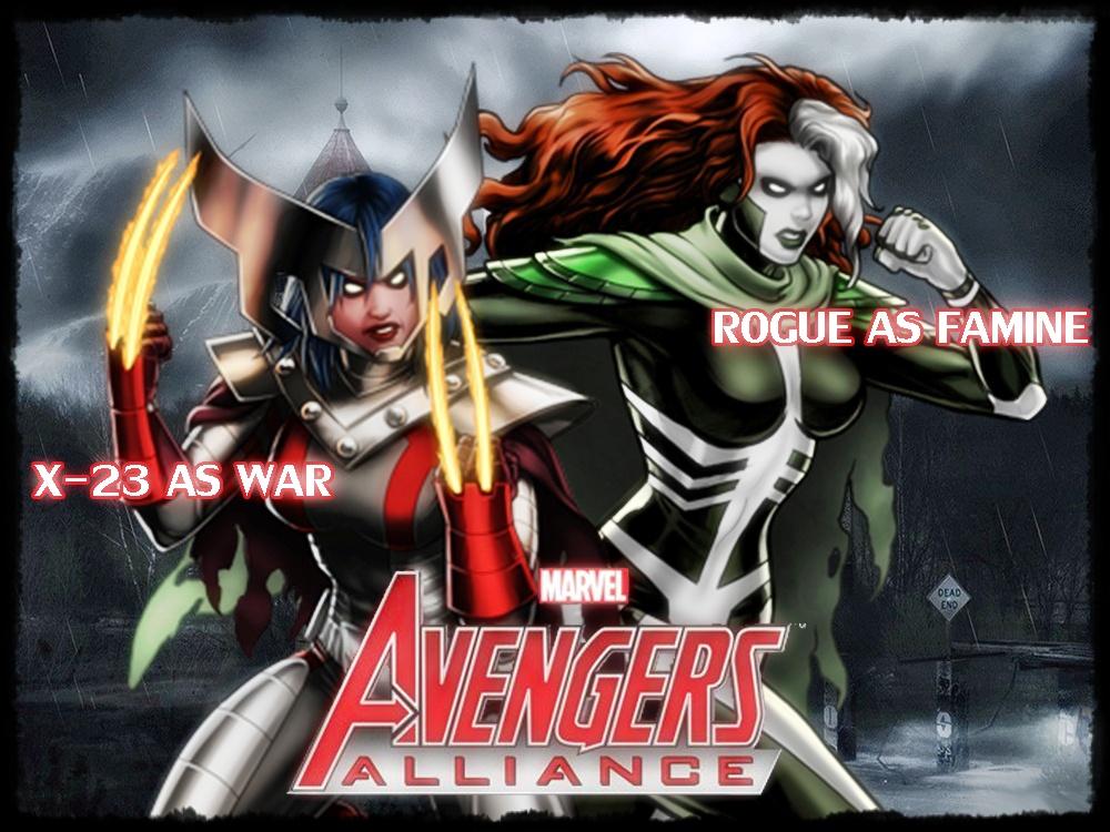 Marvel Avengers ...X 23 Marvel Avengers Alliance