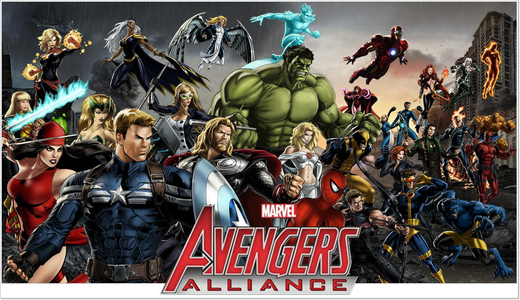marvel avengers alliance by icequeen654123 - Avengers Marvel