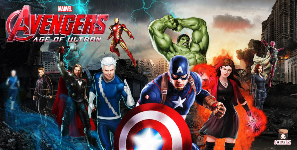 Avengers Age Of Ultron By Iloegbunam On Deviantart: Avengers: Age Of Ultron By Icequeen654123 On DeviantArt