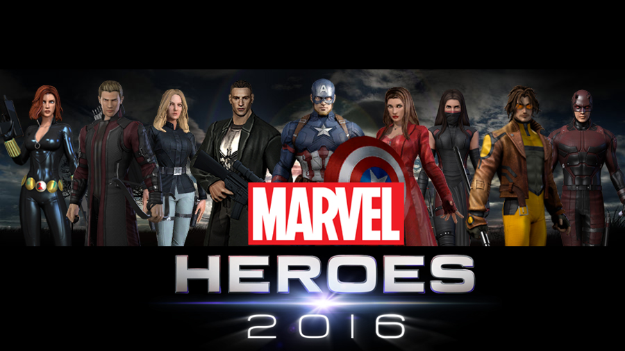 Marvel Heroes 2016 by icequeen654123