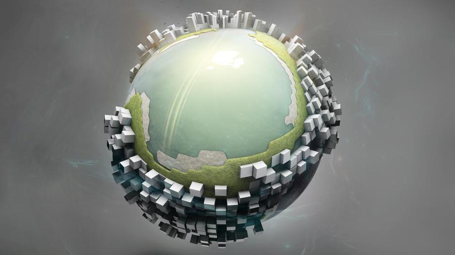 Mini-Earth by Benjhs