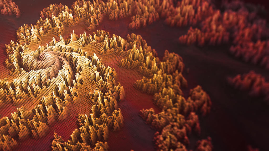Fractal Topography by Benjhs