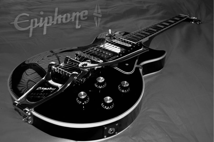 Epiphone Wallpapers: Les Paul Black Beauty By Rovanite On DeviantArt