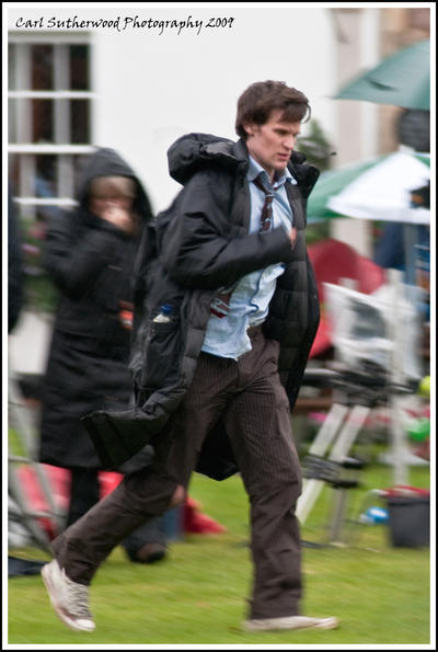 Its Matt Smith Filming Dr Who by Rovanite