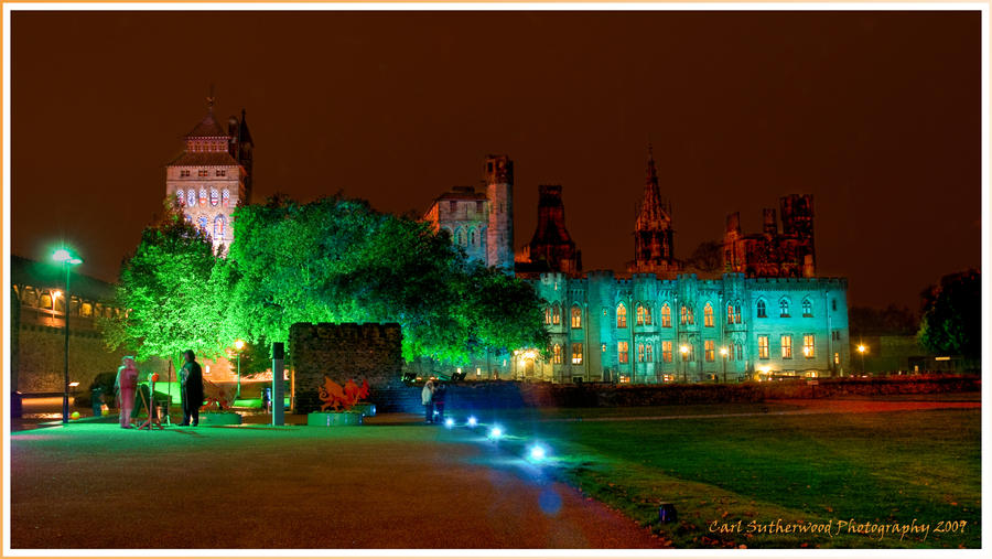 Cardiff Castle Halloween 2009 By Rovanite On Deviantart