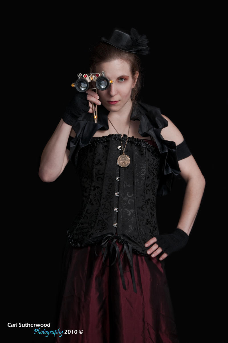 Steampunk Victorian Female by Rovanite