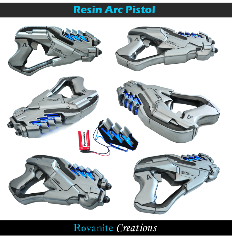 Mass Effect Arc Pistol by Rovanite