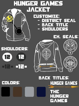 Hunger Games Custom Jackets