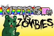Promotional Kitten Vs. Zombies
