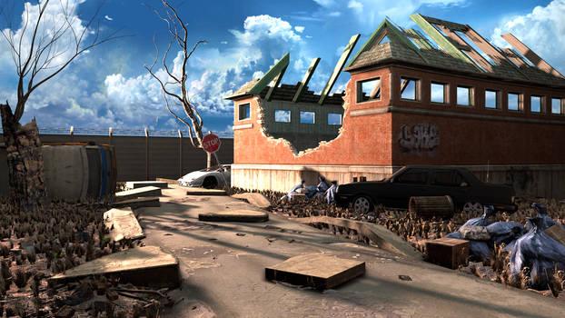 Abandoned raid in Riverside