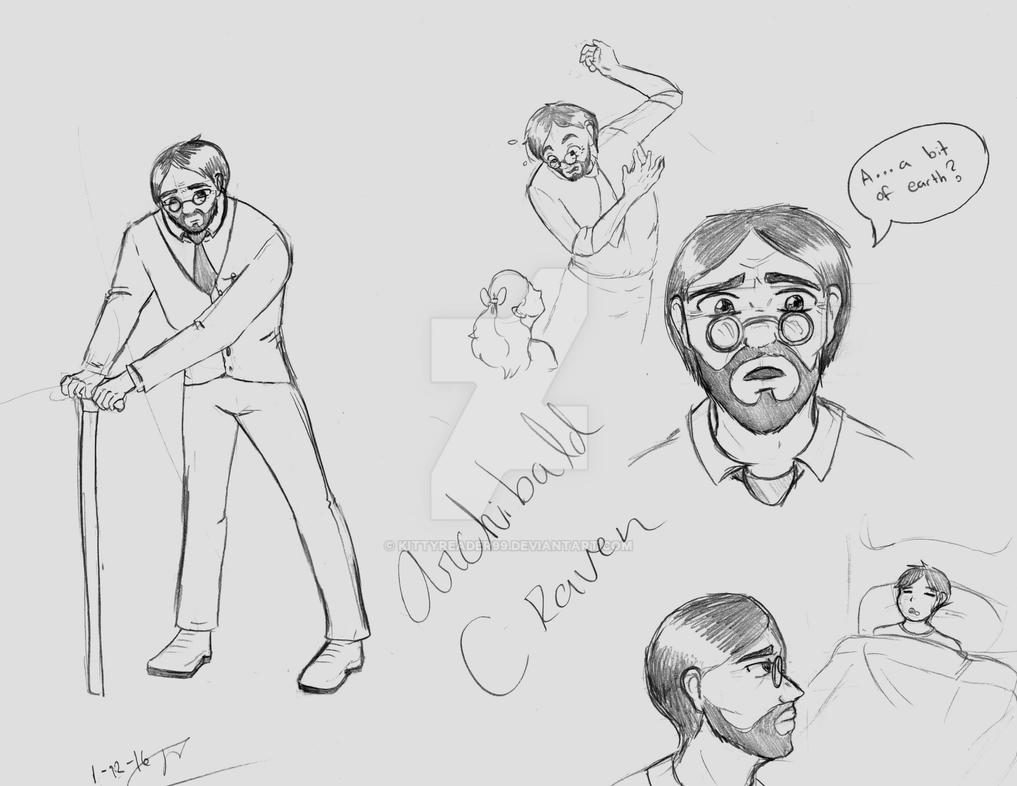 Archibald Craven Sketches by kittyreader99