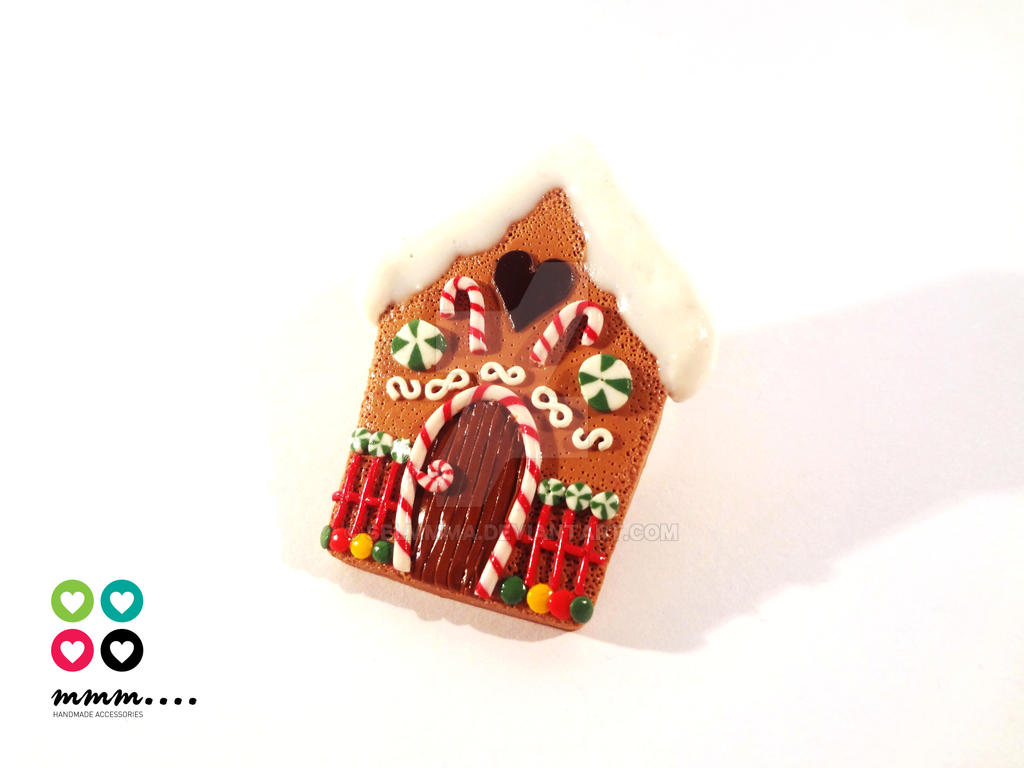 Gingerbread House Cookie by Selmmma