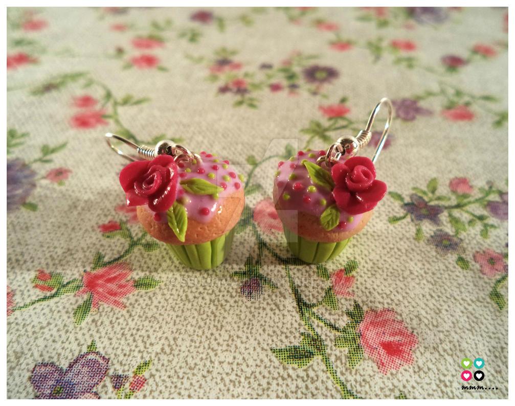Flower Cupcake by Selmmma