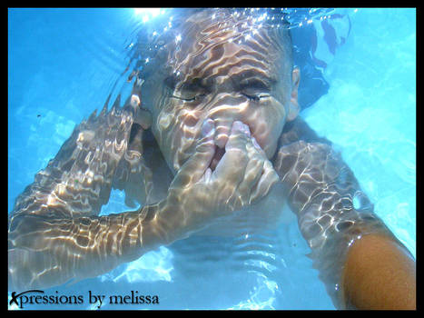 my son underwater