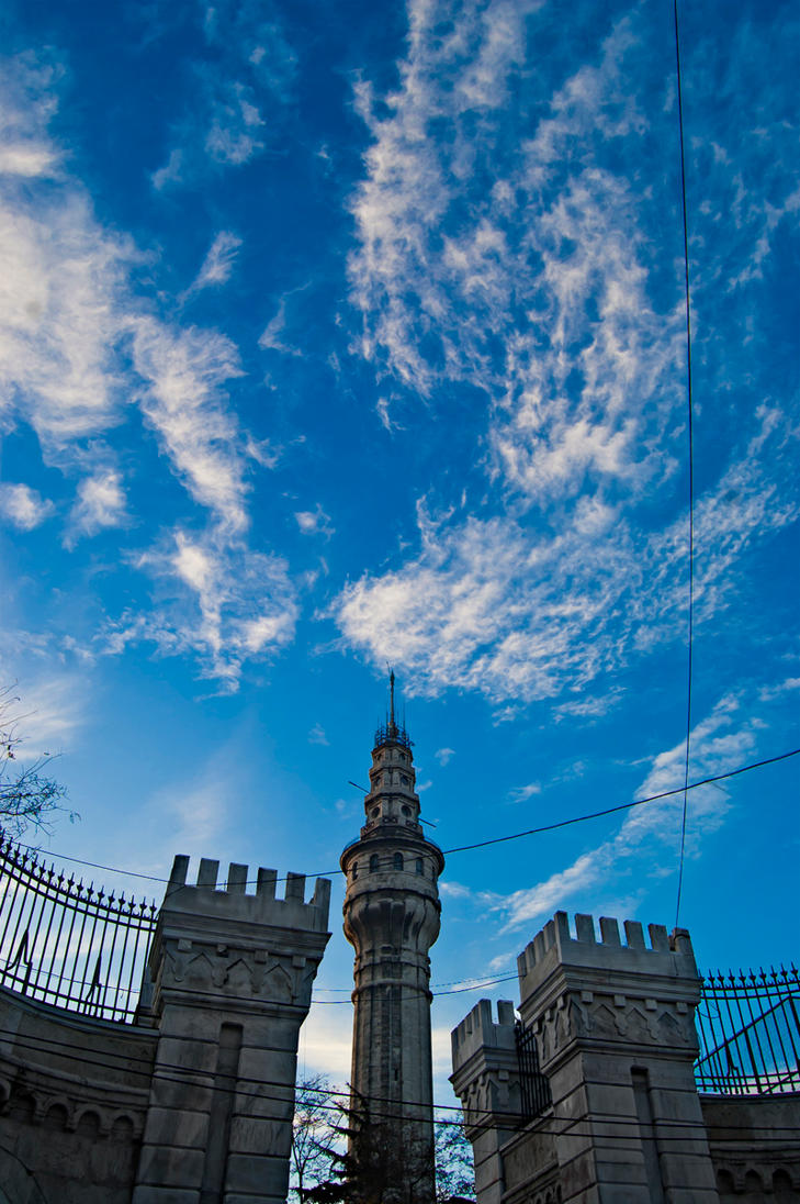 Beyazit Tower by mech7 on DeviantArt