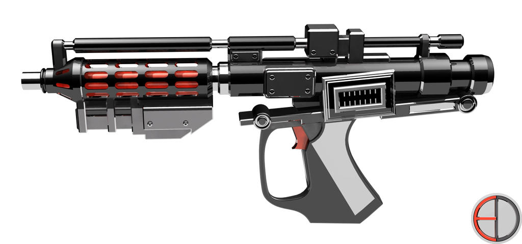 how to build a dc-15a blaster rifle
