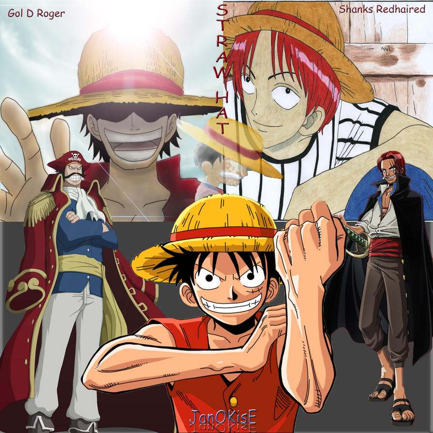 shanks and luffy meet