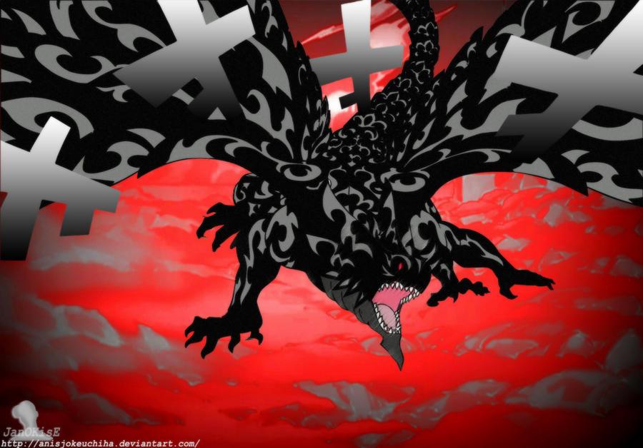 The Black Dragon by anisjokeuchiha