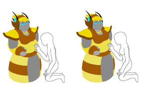 Medabot BeeQueen's Pregnant Base