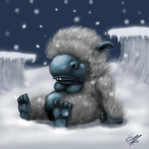 Proposer un ajout au bestiaire [Fermé] Fluffy_frosty_monster_by_ericdanerd
