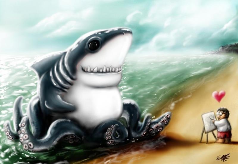 I heart You, Sharktopus