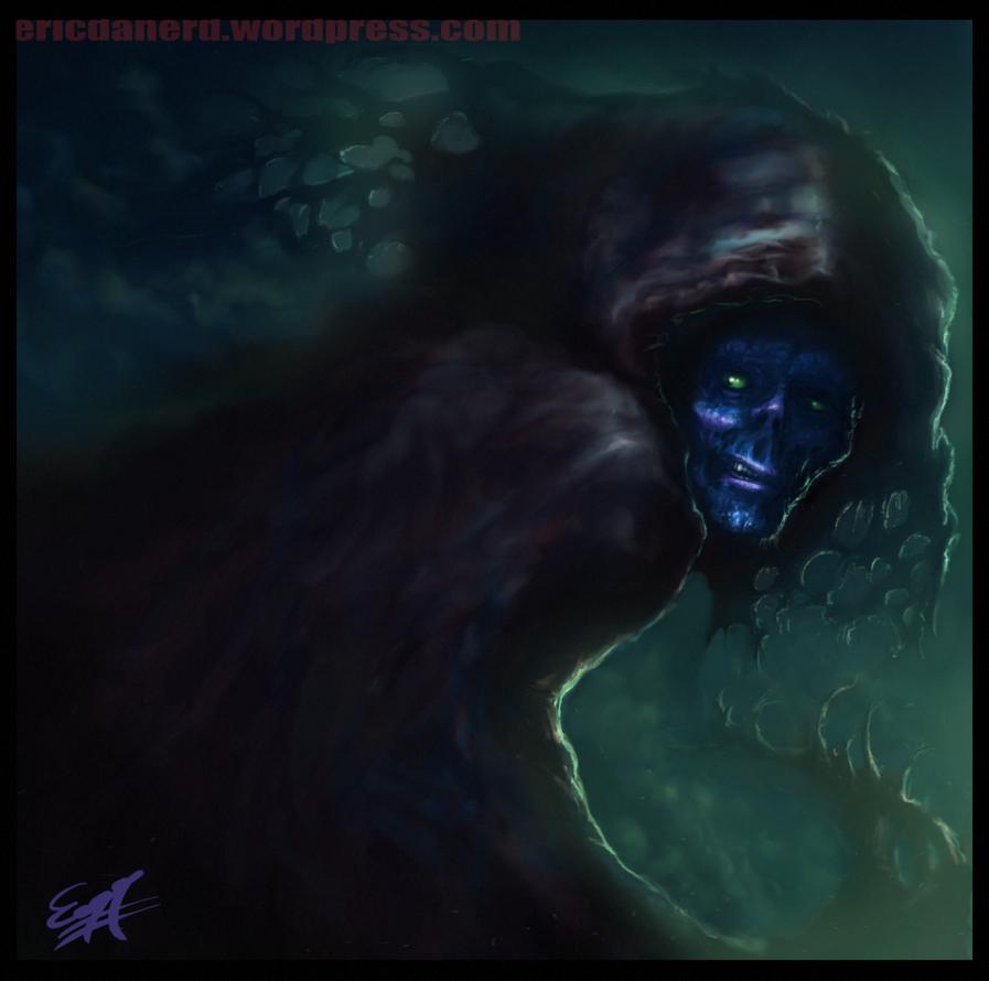 Beneath the Cloak by EricDaNerd
