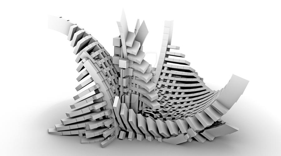 Abstract architecture by f l a r k on deviantart for Architecture definition simple