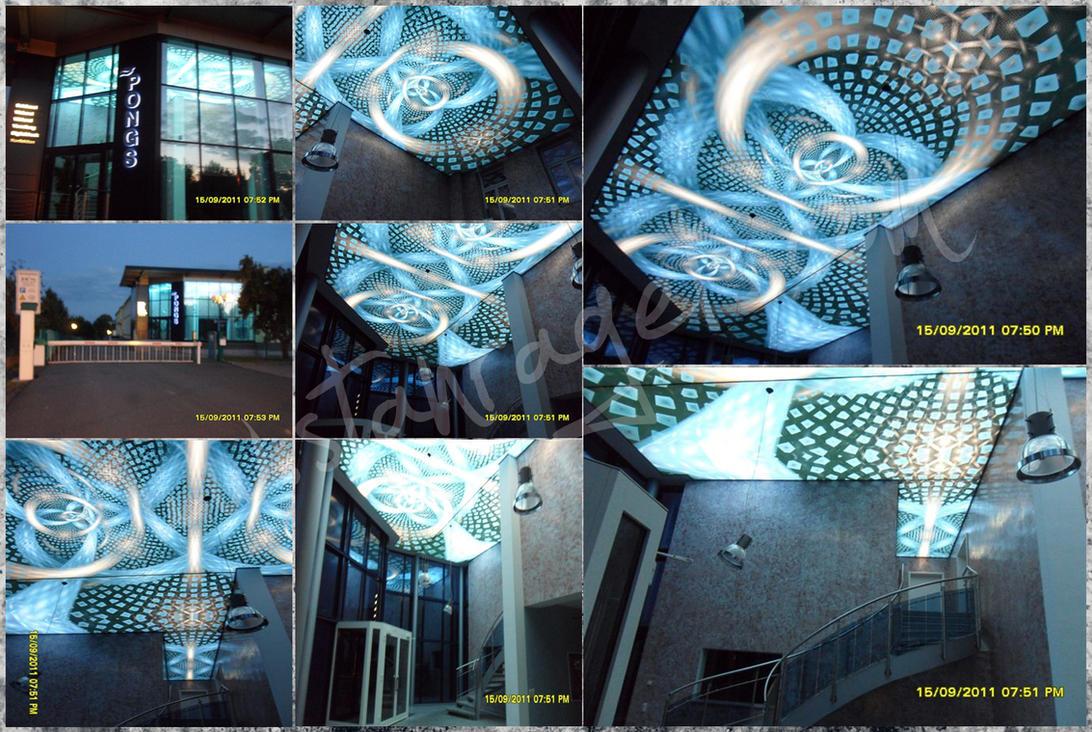 PONGS - German Installation by f--l--A--r--k
