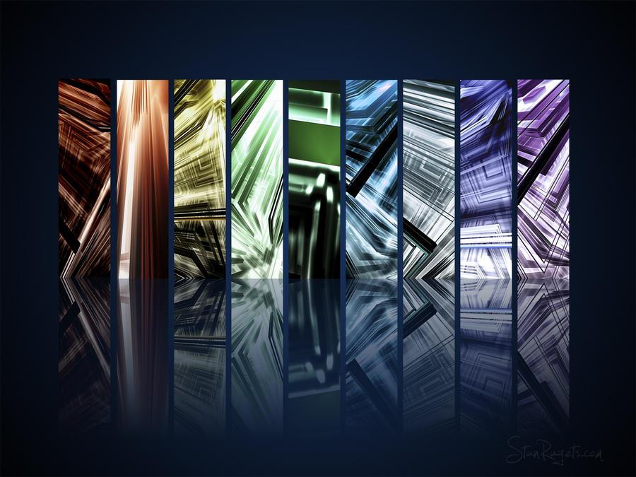 Glass City Series Wallpaper by f--l--A--r--k