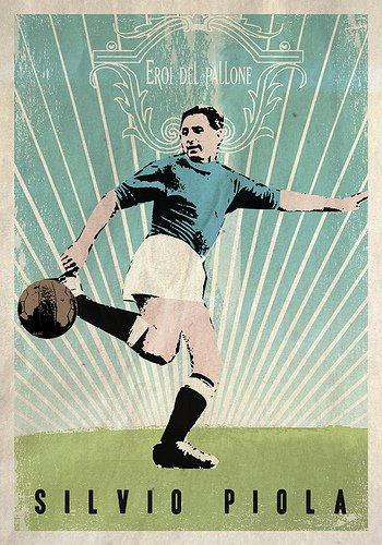 Silvio Piola Legend of Italy Football by DanieleVolpicelli on DeviantArt