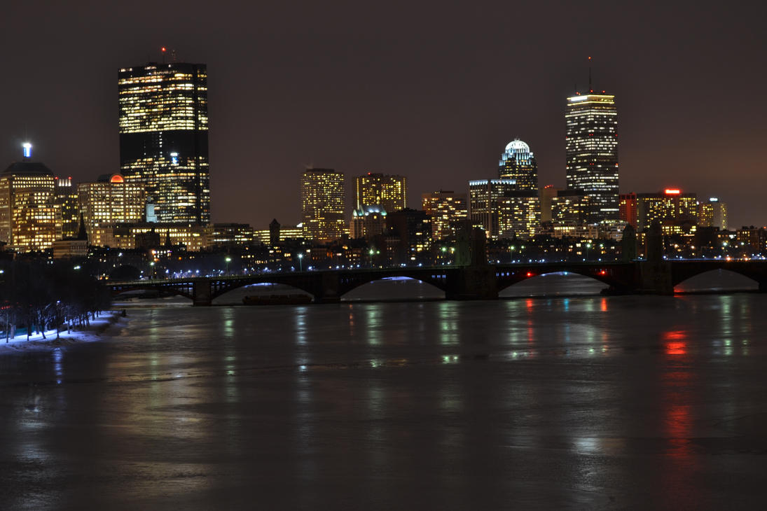 boston skyline by vurtstarphotography on deviantart