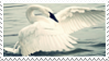 swan stamp by forestveins